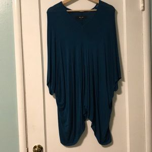 Yana K teal tunic